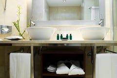 Cuarto de baño Fotos de archivo libres de regalías
