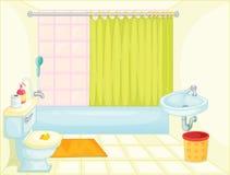Cuarto de baño Imágenes de archivo libres de regalías