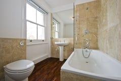 Cuarto de baño con mármol Foto de archivo