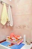 Cuarto de baño de la elegancia Foto de archivo libre de regalías