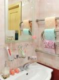 Cuarto de baño de la elegancia Imagen de archivo libre de regalías