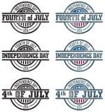 Cuarto de los sellos de julio Fotos de archivo libres de regalías