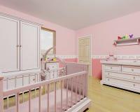 Cuarto de niños para el bebé Imagenes de archivo