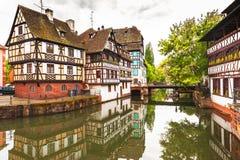 Cuarto de Petite France del La Imagen de archivo libre de regalías