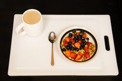 Cuarto del desayuno de julio Imagenes de archivo