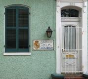 Cuarto del español de New Orleans Foto de archivo libre de regalías
