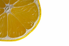Cuarto del limón Foto de archivo libre de regalías