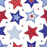 Cuarto del modelo de estrellas de julio Foto de archivo libre de regalías