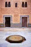 Cuarto Dorado, Alhambra palace in Granada, Spain Stock Photos
