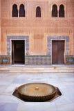 Cuarto Dorado, palácio de Alhambra em Granada, Espanha Fotos de Stock