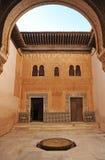 Cuarto Dorado, palácio de Alhambra em Granada, Espanha Fotos de Stock Royalty Free