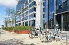 Cuarto europeo en el centro de Bruselas Imagen de archivo libre de regalías