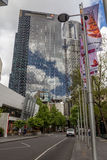 Cuarto financiero de Southbank en Melbourne Fotografía de archivo