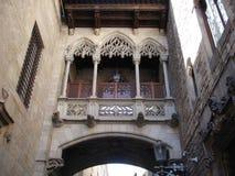 Cuarto gótico de Barcelona Fotos de archivo