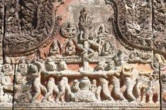 Cuarto Gopura del templo de Preah Vihear, Camboya fotos de archivo
