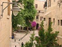 Cuarto judío en la ciudad vieja de Jerusalén Israel imagen de archivo