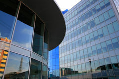 Cuarto moderno de las oficinas Imagen de archivo libre de regalías