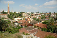 Cuartos antiguos de Antalya Foto de archivo libre de regalías