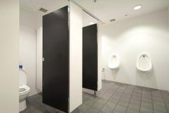 Cuartos de baño masculinos Imagen de archivo libre de regalías
