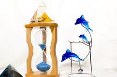 Cuartos de galón de reloj de los accesorios Foto de archivo
