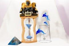 Cuartos de galón de reloj de los accesorios Imagen de archivo libre de regalías