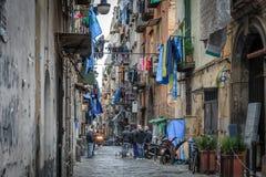 Cuartos del español de Nápoles Imagenes de archivo