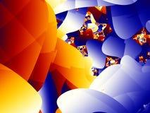 Cuartos del fractal Imagen de archivo libre de regalías