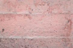 Cuarzo color de rosa de la vieja tonalidad del yeso Fotografía de archivo libre de regalías