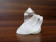 Cuarzo Crystal Stone Imagen de archivo libre de regalías