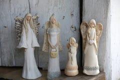 Cuatro ángeles de la belleza imagen de archivo libre de regalías
