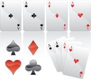 Cuatro Ñards que juega ilustración del vector
