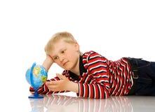 Cuatro años de muchacho Imagen de archivo libre de regalías