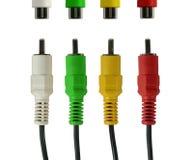 Cuatro alambres Imagen de archivo libre de regalías