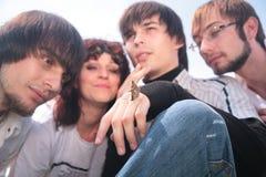 Cuatro amigos Imagen de archivo libre de regalías