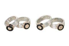 Cuatro anillos Fotografía de archivo