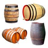 Cuatro barriles Fotografía de archivo libre de regalías