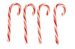 Cuatro bastones de caramelo Imagen de archivo
