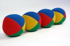 Cuatro bolas Fotos de archivo