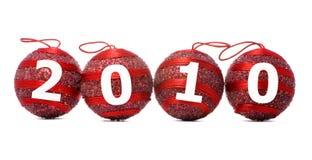 Cuatro bolas rojas Imagen de archivo libre de regalías