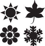 Cuatro estaciones Imagen de archivo