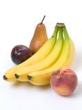 Cuatro frutas fotos de archivo libres de regalías