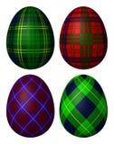 Cuatro huevos Fotografía de archivo libre de regalías