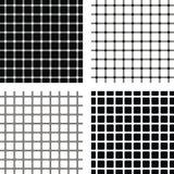 Cuatro ilusiones ópticas Foto de archivo libre de regalías