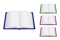 Cuatro libros Imagen de archivo libre de regalías