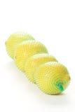 Cuatro limones Imagen de archivo libre de regalías