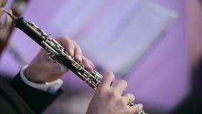 Cuatro músicos en restaurante almacen de metraje de vídeo