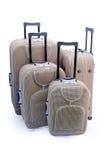 Cuatro - maletas del recorrido Imágenes de archivo libres de regalías