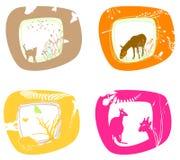 Cuatro marcos 2 Libre Illustration