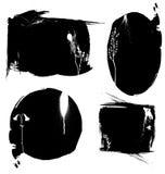Cuatro marcos Imagen de archivo