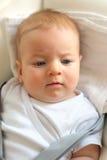 Cuatro meses del bebé Foto de archivo libre de regalías